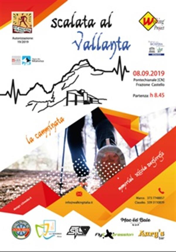 PONTECHIANALE (Cn) - Scalata al Vallanta - Fitwalking Cross