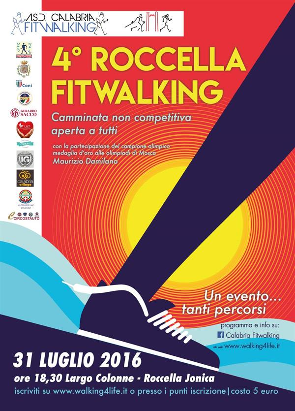 ROCCELLA JONICA (Rc) – 4° Roccella Fitwalking - Evento Fitwalking